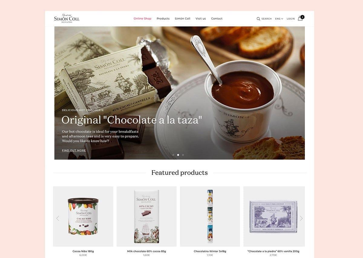 Simón Coll website case study